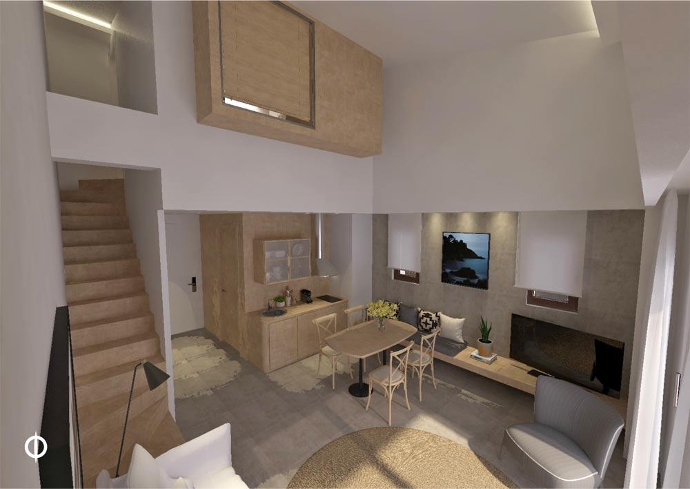 One Bedroom Suite Loft